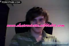 guy wanking on chatroulette