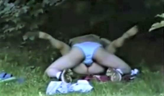 Spycam sex outdoor