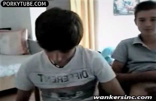 2 guys wank and get wanked by girl on cam 7