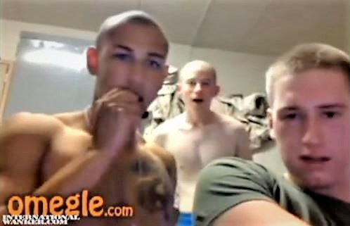 Young Marines on Webcam Horny Sexy Vid