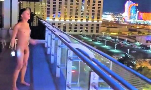 Blue Teen in Las Vegas